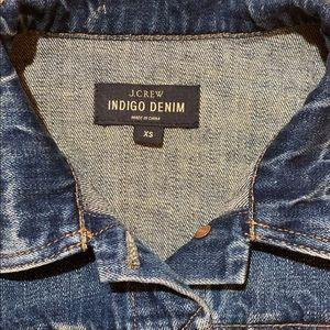 J. Crew Jackets & Coats - J Crew Indigo Denim Jacket Woman's XS Jean